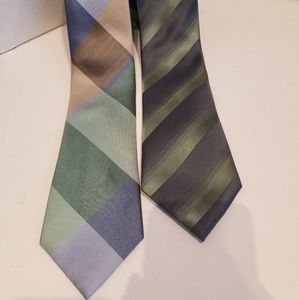 Kenneth Cole New York Green Ties